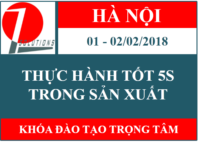 5S trong sản xuất