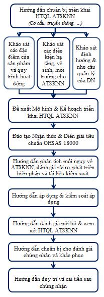 Lưu đồ tư vấn OHSAS 18000